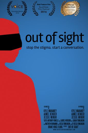 Out of Sight: Stop the Stigma, Start a Conversation Poster
