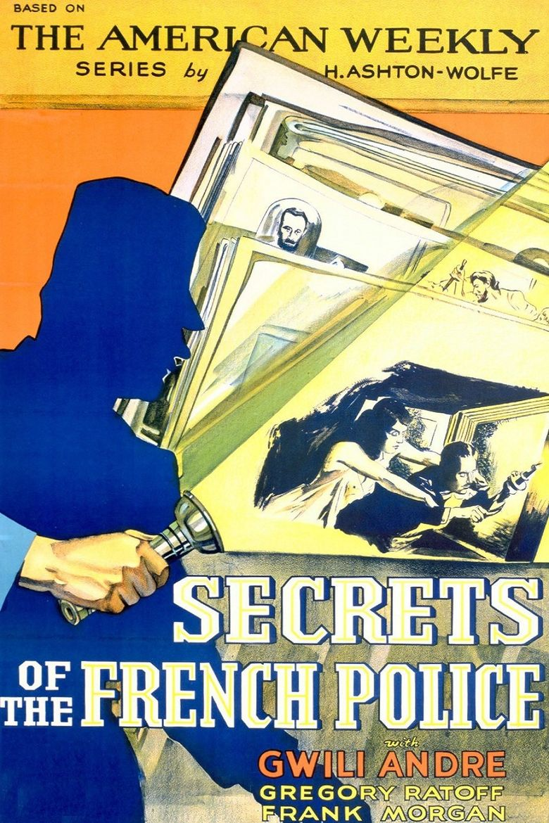 Secrets of the French Police Poster