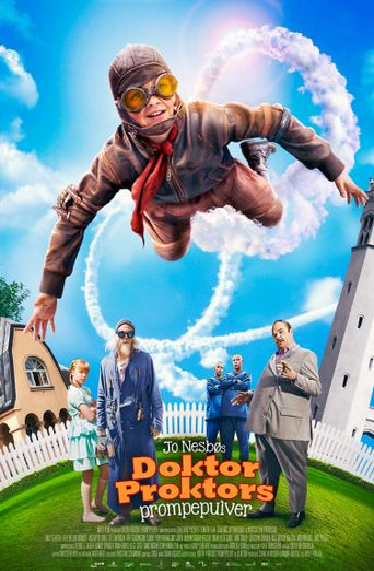 Doctor Proctor's Fart Powder Poster