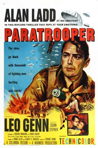 The Red Beret Poster