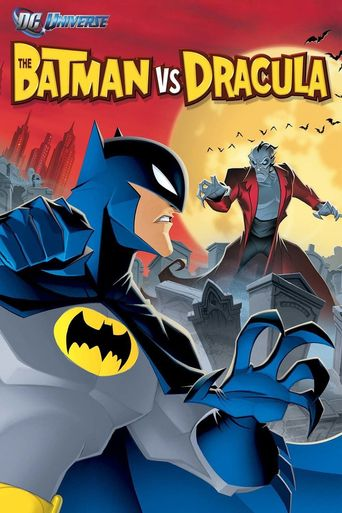 The Batman vs. Dracula Poster