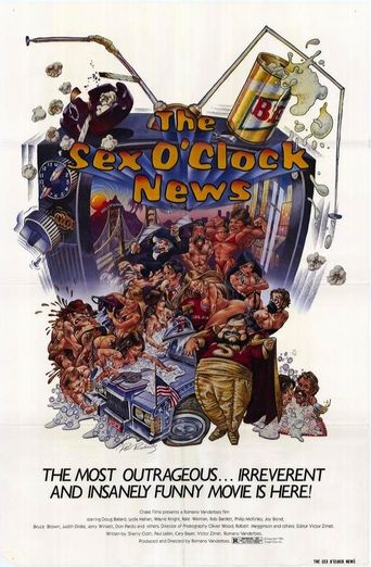 The Sex O'Clock News Poster