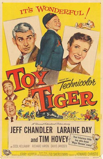 Toy Tiger Poster