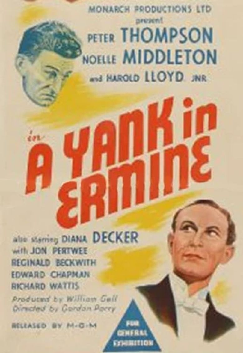 A Yank in Ermine Poster