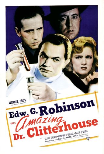 The Amazing Dr. Clitterhouse Poster