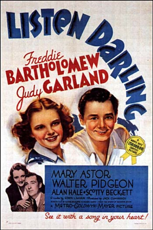 Listen, Darling Poster