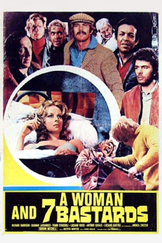 Una donna per 7 bastardi Poster