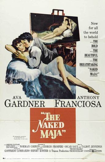The Naked Maja Poster