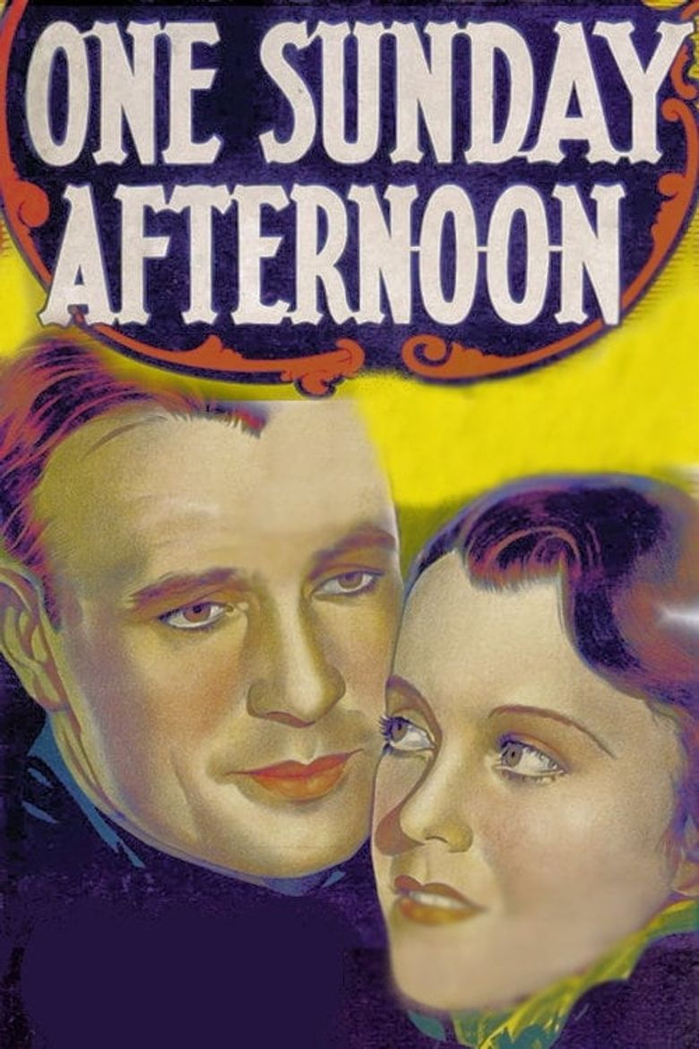 One Sunday Afternoon Poster