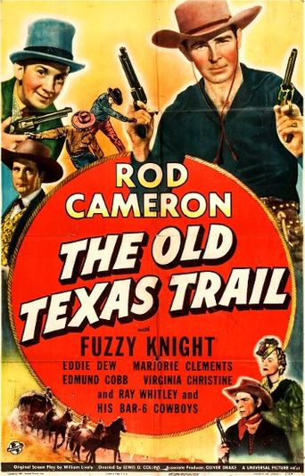 The Old Texas Trail Poster