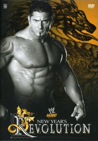 WWE New Year's Revolution 2005 Poster