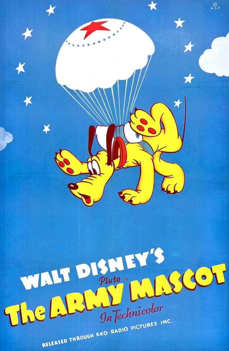 The Army Mascot Poster