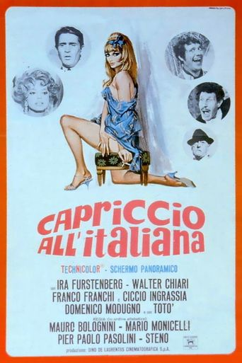 Caprice Italian Style Poster