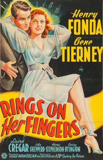 Rings on Her Fingers Poster