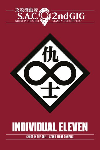 Ghost in the Shell: Stand Alone Complex - Individual Eleven Poster