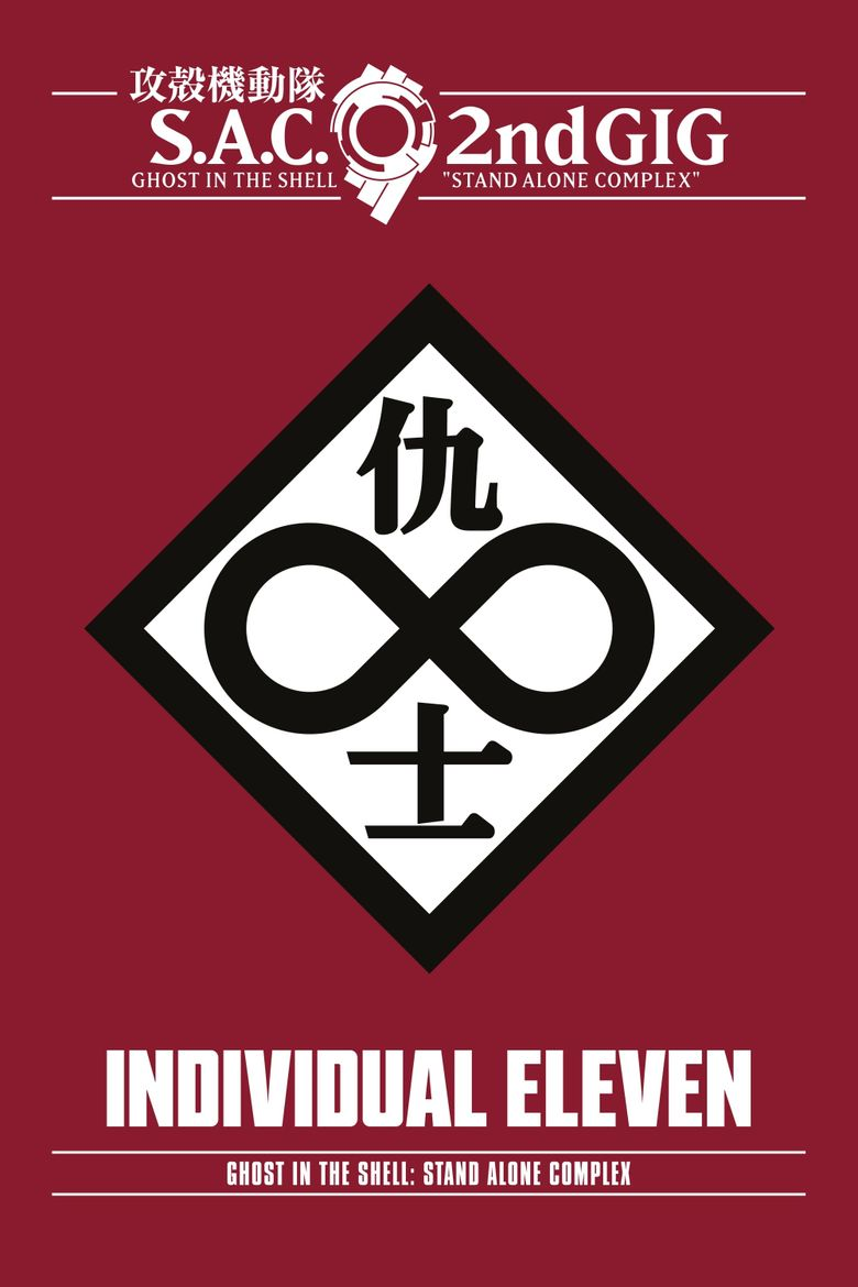 Ghost in the Shell: S.A.C. 2nd GIG – Individual Eleven Poster