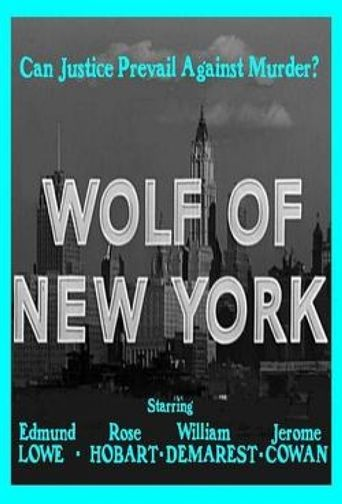 Wolf of New York Poster
