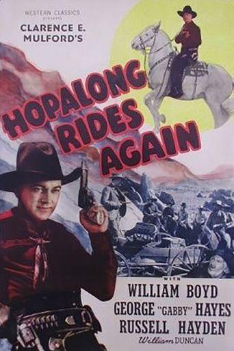 Hopalong Rides Again Poster