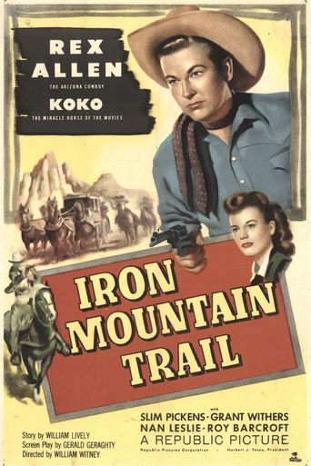 Iron Mountain Trail Poster
