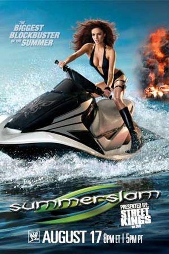 WWE SummerSlam 2008 Poster