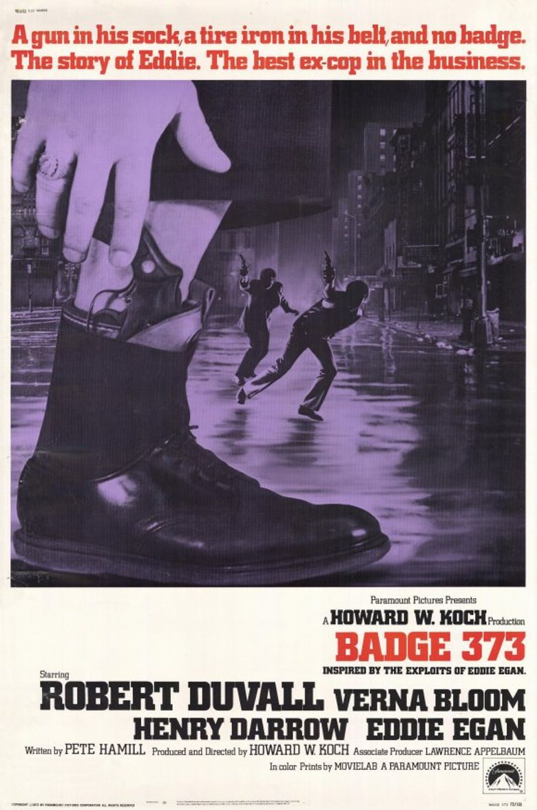 Badge 373 Poster