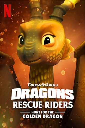 Dragons: Rescue Riders: Hunt for the Golden Dragon Poster