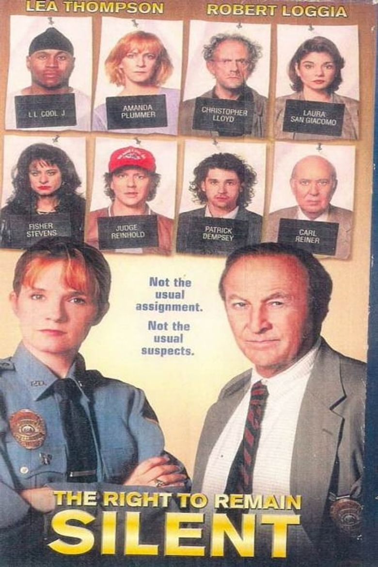 The Right to Remain Silent Poster