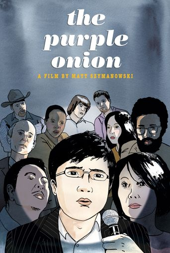 The Purple Onion Poster