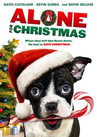 Alone For Christmas Poster