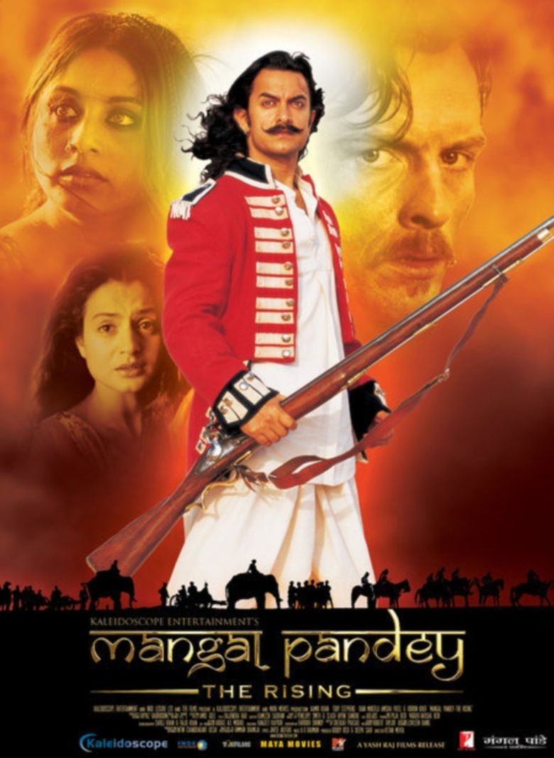 Mangal Pandey - The Rising Poster