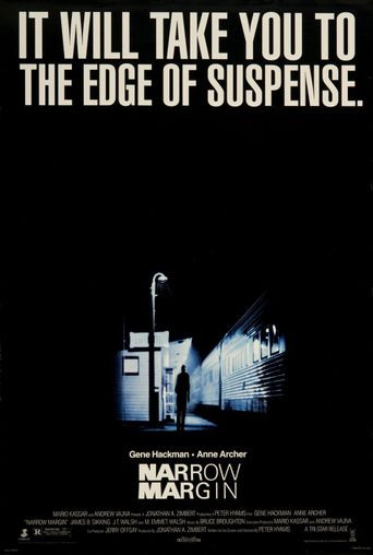 Narrow Margin Poster
