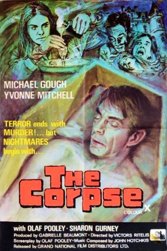 The Corpse Poster