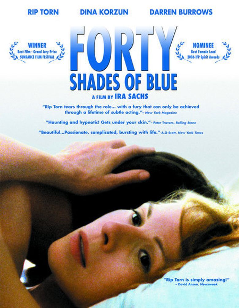 Forty Shades of Blue Poster