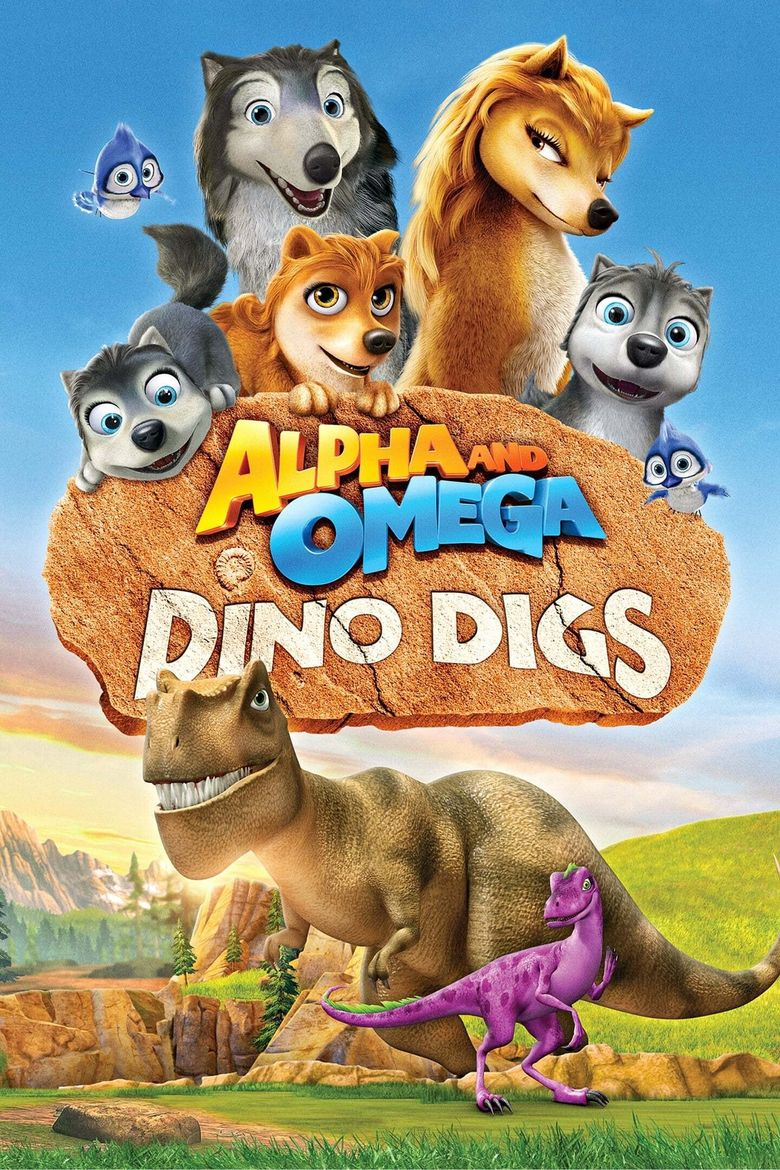 Alpha and Omega: Dino Digs Poster