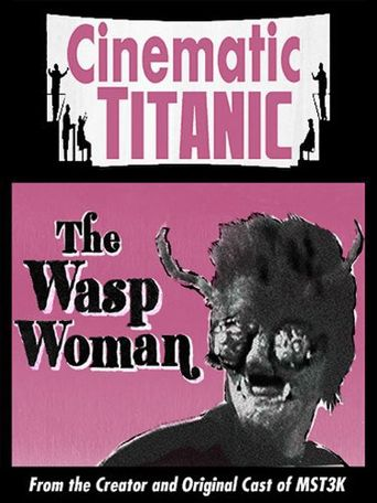 Cinematic Titanic: The Wasp Woman Poster