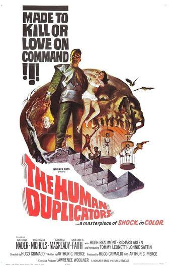 The Human Duplicators Poster