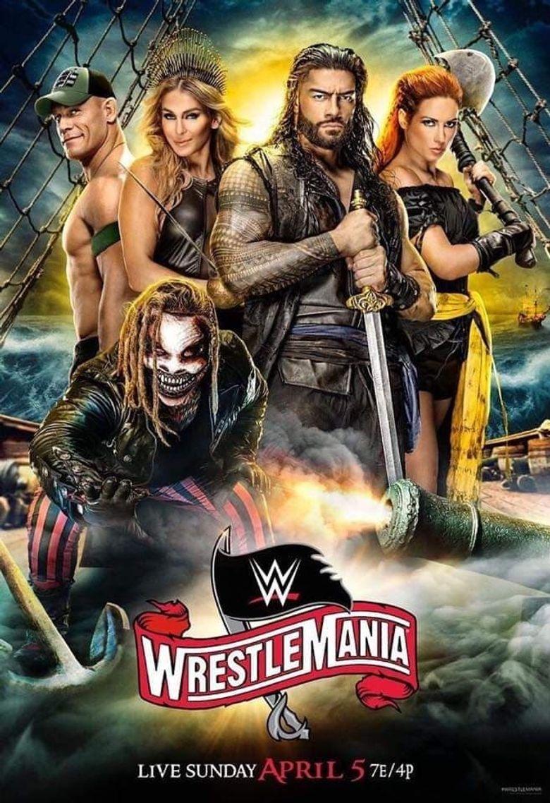 WWE WrestleMania 36 (Night 1) Poster