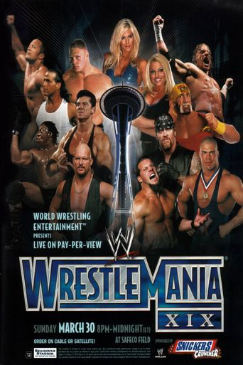 WWE Wrestlemania XIX Poster