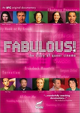 Fabulous! The Story of Queer Cinema Poster