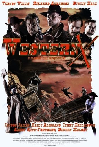 Western X Poster