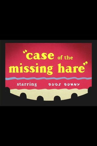 Case of the Missing Hare Poster
