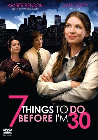 7 Things To Do Before I'm 30 Poster