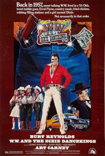 W.W. and the Dixie Dancekings Poster