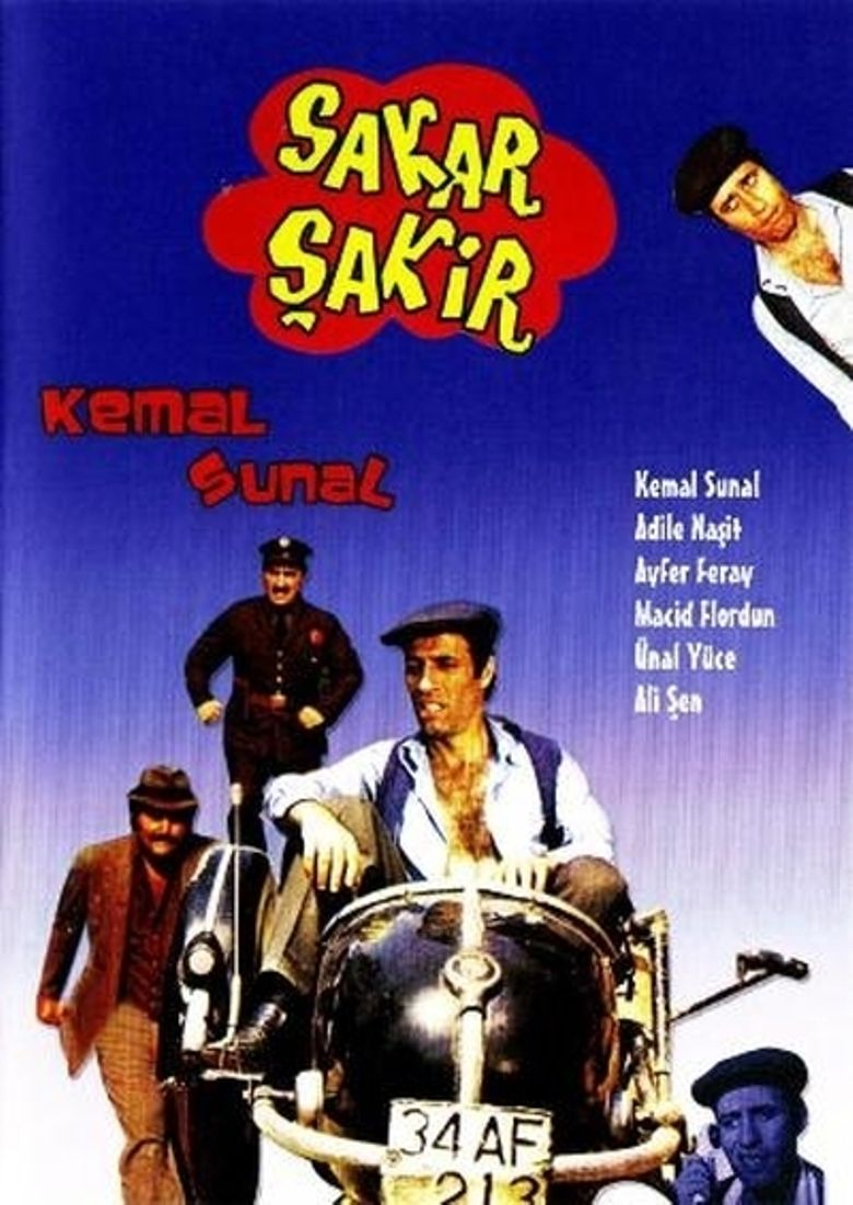 Sakar Şakir Poster