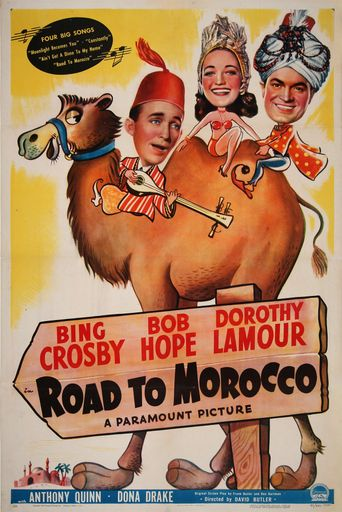 Road to Morocco Poster