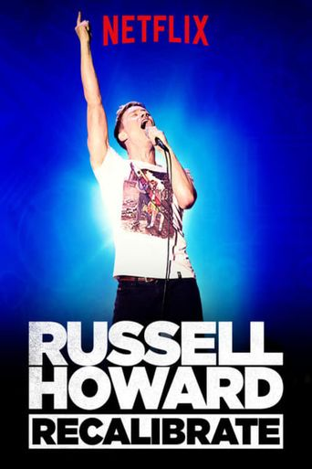 Russell Howard: Recalibrate Poster