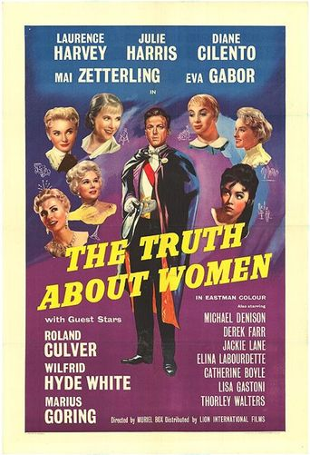 The Truth About Women Poster