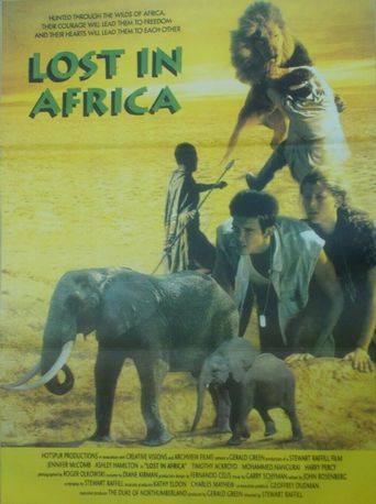 Lost in Africa Poster