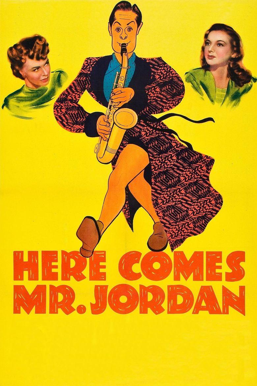 Here Comes Mr. Jordan Poster
