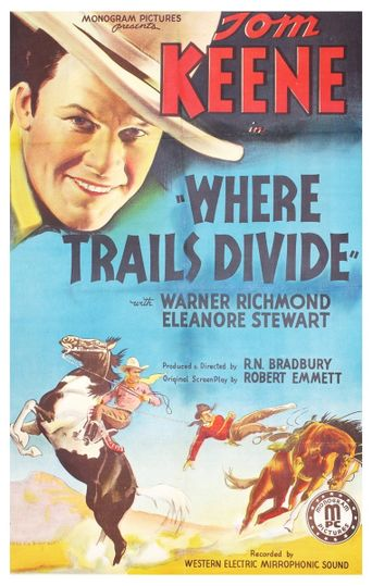 Where Trails Divide Poster